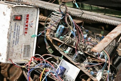 Waste electronic and electrical equipment