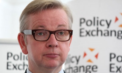 Michael Gove named as controversial choice for Environment Secretary