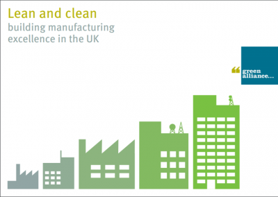 Government must support resource efficient manufacturing to close North/South divide and unlock profit