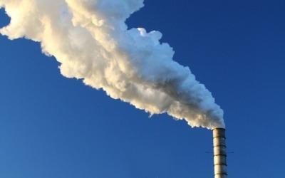Incinerator smoke