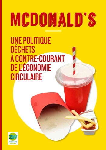 McDonald's recycling and waste management 'insufficient', says French report