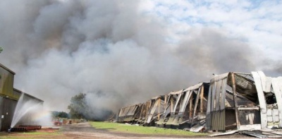 Man arrested in connection to two-week Nottinghamshire waste fire