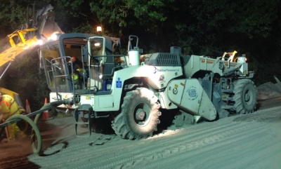 Road recycling makes Somerset main road rebuild project 'cheaper, greener and quicker'