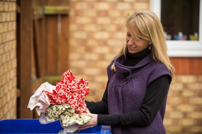 Reuse and recycling tips for Christmas wrapping