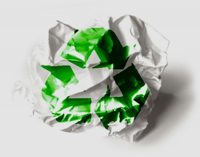 Wales recycled 54.3 per cent in 2013/14