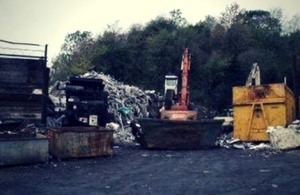 EA shuts down scrap site for noise nuisance for first time