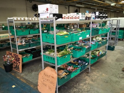 UK's first food waste supermarket opens in Leeds Real Junk Food Project