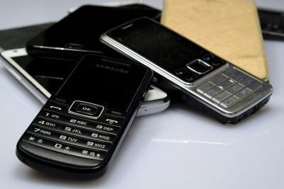 An image of some mobile phones