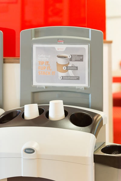 Coffee cup debate rages on as Veolia launches office recycling service