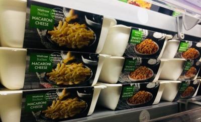 Waitrose plastic-free food trays
