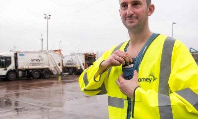 Amey announces waste worker safety pilots using 'smart vests' and 'body cams'