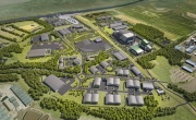 An artist's impression of one of the new sites where PowerHouse Energy will base its technology