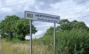 Hertfordshire Sign