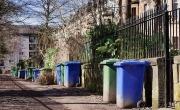 Wheeled recycling bins