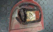 Li battery in waste fire