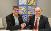 BPF Director General Philip Law and EuPC Managing Director Alexandre Dangis  launch UK MORE platform