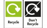 OPRL's 'Recycle' and 'Don't Recycle' labels
