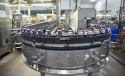 Factory production of ribena bottles