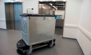 Hospital using automated Taylor Swisslog waste system