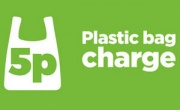 English carrier bag charge begins