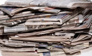 Pile of newspapers