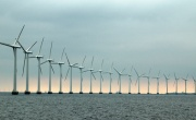 Electricity from fossil fuels and renewables tied in Scotland
