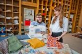 Sustainable textile workspace opens in Edinburgh