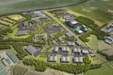 The planned Protos Energy Park in Ellesmere Port, Cheshire, the first site to be announced by PowerHouse Energy