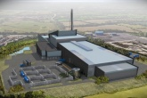 An artist's impression of Viridor's Resource Recovery Centre in Avonmouth