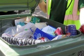 UK recycling rate falls for the first time