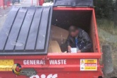 Three people a week found sleeping in Biffa bins