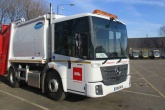 Biffa refuse collection vehicle.