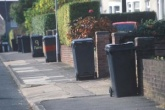 Bins on the street