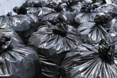 An image of black bin bags
