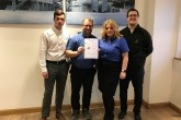 Casepak gains health and safety certification
