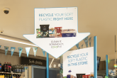 A Co-op soft plastics recycling point