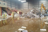 Fire crews attend Shropshire plastic fire
