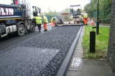 Recycled plastic road surface trialled by Enfield Council