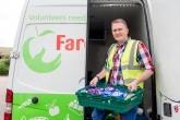 FareShare volunteer and van