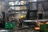 Man hospitalised after battery recycling plant explosion