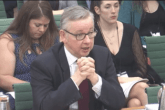 Gove raises prospect of waste stockpiling in the event of 'no deal' Brexit