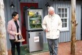 Prince of Wales opens community fridge