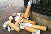 Interactive initiatives target cigarette litter