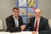 BPF Director General Philip Law and EuPC Managing Director Alexandre Dangis  launch UK MORE platform