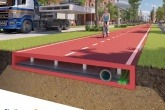 World's first used-plastic bicycle path launched in the Netherlands