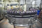 Factory production of ribena bottles