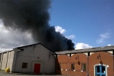 Fire at biomass facility in North Wales