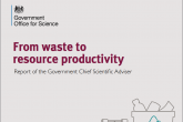 Government scientist says resource productivity must be at the heart of industrial strategy
