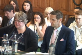 Therese Coffey and Chris Preston appear before the Efra Committee