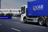 The homepage of J&B Recycling's redesigned website.